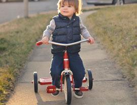 I benefici all'utilizzo del triciclo