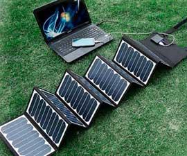 Energia del sole a disposizione